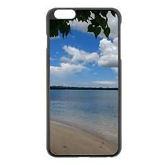 Isla Puerto Rico Apple Iphone 6 Plus/6s Plus Black Enamel Case