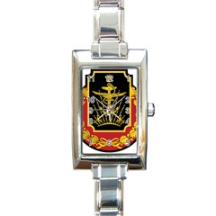 Logo Of Imperial Iranian Ministry Of War Rectangle Italian Charm Watch
