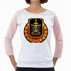 Logo Of Imperial Iranian Ministry Of War Girly Raglans