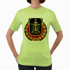 Logo Of Imperial Iranian Ministry Of War Women s Green T Shirt