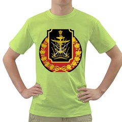 Logo Of Imperial Iranian Ministry Of War Green T Shirt