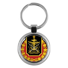 Logo Of Imperial Iranian Ministry Of War Key Chains (round)