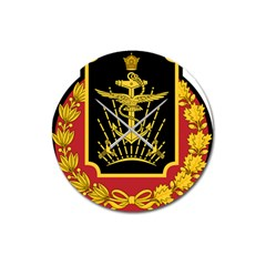 Logo Of Imperial Iranian Ministry Of War Magnet 3  (round)