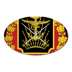 Logo Of Imperial Iranian Ministry Of War Oval Magnet