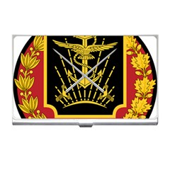 Logo Of Imperial Iranian Ministry Of War Business Card Holders