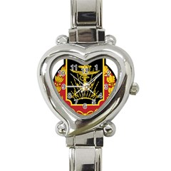 Logo Of Imperial Iranian Ministry Of War Heart Italian Charm Watch