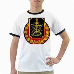 Logo Of Imperial Iranian Ministry Of War Ringer T Shirts