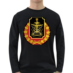 Logo Of Imperial Iranian Ministry Of War Long Sleeve Dark T Shirts
