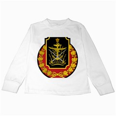 Logo Of Imperial Iranian Ministry Of War Kids Long Sleeve T Shirts