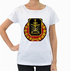 Logo Of Imperial Iranian Ministry Of War Women s Loose Fit T Shirt (white)