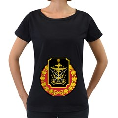 Logo Of Imperial Iranian Ministry Of War Women s Loose Fit T Shirt (black)