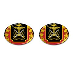 Logo Of Imperial Iranian Ministry Of War Cufflinks (oval)