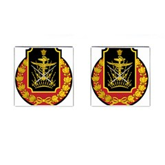 Logo Of Imperial Iranian Ministry Of War Cufflinks (square)