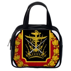 Logo Of Imperial Iranian Ministry Of War Classic Handbags (one Side)