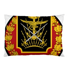 Logo Of Imperial Iranian Ministry Of War Pillow Case
