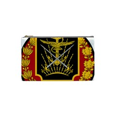 Logo Of Imperial Iranian Ministry Of War Cosmetic Bag (small)