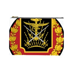 Logo Of Imperial Iranian Ministry Of War Cosmetic Bag (large)
