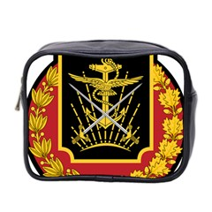 Logo Of Imperial Iranian Ministry Of War Mini Toiletries Bag 2 Side