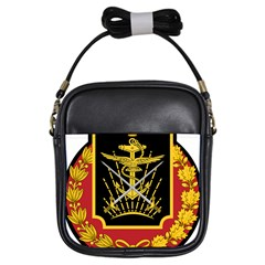 Logo Of Imperial Iranian Ministry Of War Girls Sling Bags