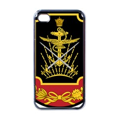 Logo Of Imperial Iranian Ministry Of War Apple Iphone 4 Case (black)
