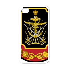Logo Of Imperial Iranian Ministry Of War Apple Iphone 4 Case (white)