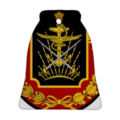 Logo Of Imperial Iranian Ministry Of War Bell Ornament (two Sides)