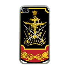 Logo Of Imperial Iranian Ministry Of War Apple Iphone 4 Case (clear)