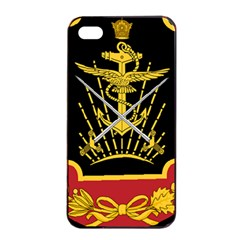 Logo Of Imperial Iranian Ministry Of War Apple Iphone 4/4s Seamless Case (black)
