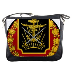 Logo Of Imperial Iranian Ministry Of War Messenger Bags