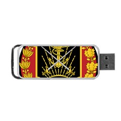 Logo Of Imperial Iranian Ministry Of War Portable Usb Flash (two Sides)