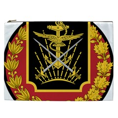 Logo Of Imperial Iranian Ministry Of War Cosmetic Bag (xxl)