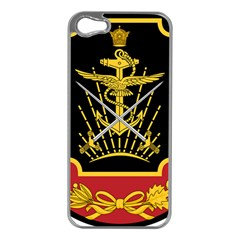 Logo Of Imperial Iranian Ministry Of War Apple Iphone 5 Case (silver)