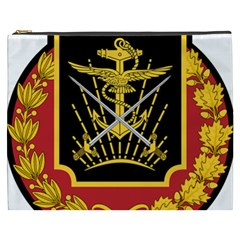 Logo Of Imperial Iranian Ministry Of War Cosmetic Bag (xxxl)