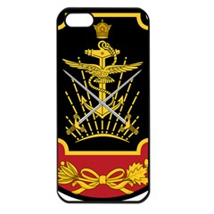 Logo Of Imperial Iranian Ministry Of War Apple Iphone 5 Seamless Case (black)