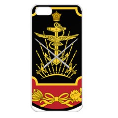 Logo Of Imperial Iranian Ministry Of War Apple Iphone 5 Seamless Case (white)