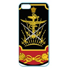 Logo Of Imperial Iranian Ministry Of War Apple Seamless Iphone 5 Case (color)