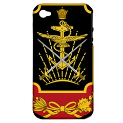 Logo Of Imperial Iranian Ministry Of War Apple Iphone 4/4s Hardshell Case (pc+silicone)