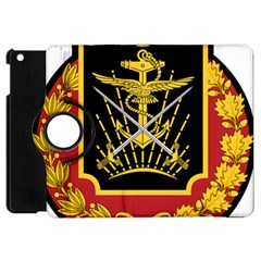 Logo Of Imperial Iranian Ministry Of War Apple Ipad Mini Flip 360 Case