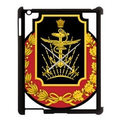 Logo Of Imperial Iranian Ministry Of War Apple Ipad 3/4 Case (black)