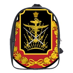 Logo Of Imperial Iranian Ministry Of War School Bag (xl)
