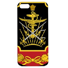 Logo Of Imperial Iranian Ministry Of War Apple Iphone 5 Hardshell Case With Stand