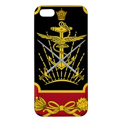 Logo Of Imperial Iranian Ministry Of War Apple Iphone 5 Premium Hardshell Case
