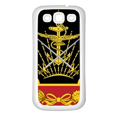 Logo Of Imperial Iranian Ministry Of War Samsung Galaxy S3 Back Case (white)