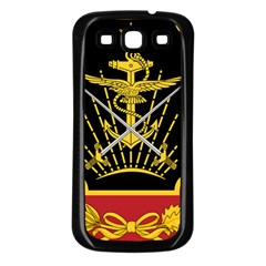Logo Of Imperial Iranian Ministry Of War Samsung Galaxy S3 Back Case (black)
