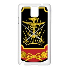 Logo Of Imperial Iranian Ministry Of War Samsung Galaxy Note 3 N9005 Case (white)