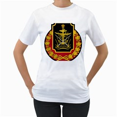 Logo Of Imperial Iranian Ministry Of War Women s T Shirt (white)