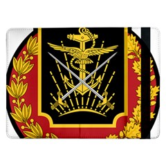 Logo Of Imperial Iranian Ministry Of War Samsung Galaxy Tab Pro 12 2  Flip Case