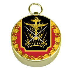 Logo Of Imperial Iranian Ministry Of War Gold Compasses