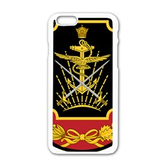 Logo Of Imperial Iranian Ministry Of War Apple Iphone 6/6s White Enamel Case