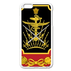 Logo Of Imperial Iranian Ministry Of War Apple Iphone 6 Plus/6s Plus Enamel White Case
